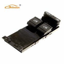 Wholesale Plastic Auto Window Lifter Switch for VW (1J3959857A)