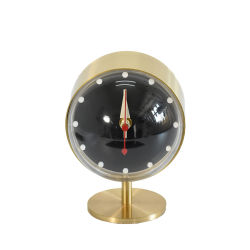 Solid Brass Table Night Clock