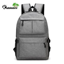 Fashion Travel Hiking Backpack Outdoor Sports Shoulder USB Charger Backpack for Laptop