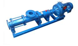 G Handwheel Stepless Speed Change Single Screw Pump