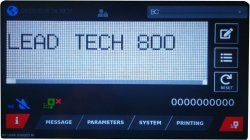 Lead Tech Lt800 Touch Screen Cij Expiry Date Inkjet Printer