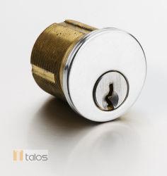 Euro Screw in Brass Cylinder Lock