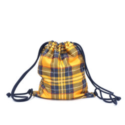 Two-Tier Drawstrings Bag, Sports Gym Backpack Promotion Promotional Gift Shopping Foldable Bag Skb-01