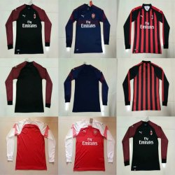 465199faf Wholesale AC Milan Arsenal Home Away Third Football Soccer Jerseys