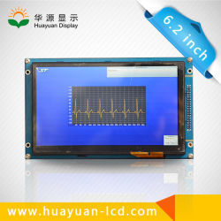 6.2 Inch Digital Color LCD Display Used to Golf Course