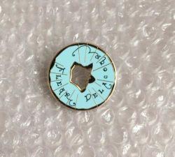 Reasonable Price Hard Enamel with Printing Metal Pin