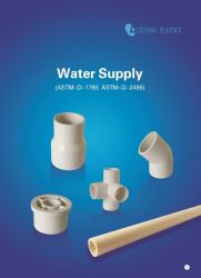 ASTM Sch40 Plastic (UPVC) Pipe Fittings ASTM-D-2466 for Supply Water (ELBOW, TEE, SOCKET, REDUCING BUSH, etc.)