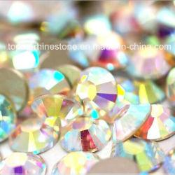 Wholesale Nail Art Accessories Flatback Non Hotfix Rhinestone (FB-ss16 crystal ab)