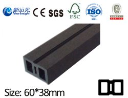 High Strength WPC Joist for Decking Flooring Wall Panel Cladding with SGS CE Fsc ISO WPC Keel Wood Plastic Composite Joist Lhma082