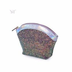 Hot Sale! ! ! New Design Zipper Women Sequins Cometic Bag for Party