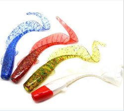 10cm Soft Worm Fishing Lure Soft Lure Fishing Tackle