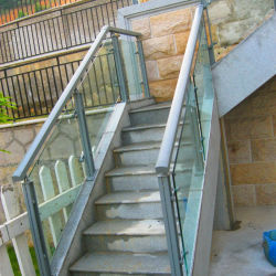 Chinese Manufacturers Direct Marketing Aluminum Alloy Vitreous Handrail