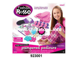 DIY Girl Nail Salon Plastic Accessories Toy (923001)