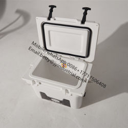 25L/35L/65L Wholesale Outdoor Rotomolded Hard Cooler Box PE &PU Material