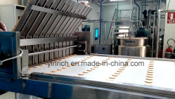 Sandwiching Machine Biscuit Machine Chocolate-Coated Marshmallow Depositing on Biscuit (JXJ1000) with Ce ISO9001
