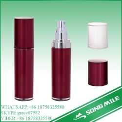 30ml White PE Airless Bottle for Cosmetic Lotion