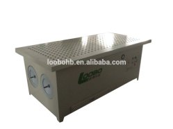 High Airflow Efficiency Downdraft Dust Collector and Working Table