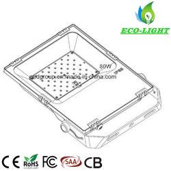 IP65 Waterproof 3 Years Warranty 80W Landscape Square Lighting LED Flood Light From Shenzhen Factory