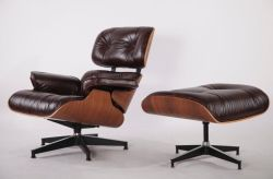 Modern Furniture Charles Eames Lounge Chair And Ottoman Replica