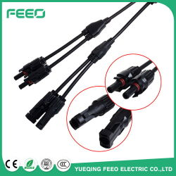 Wholesale China Wire Clip Branch Mc4 Y Connectors Type 1 to 2 Male Female PV Module Connectors for off Grid Solar System