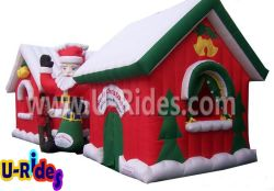 inflatable chirstmas house for event and fun