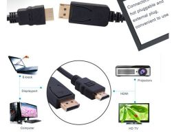 Displayport 1.3 Cable for VGA, DVI and HDMI Format