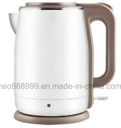 Double Layer 304 Food Grad Plastic & Stainless Steel Electric Kettle