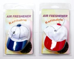 Sports Hat Car Air Freshener, Sunhat Car Decoration Perfume Pendant (JSD-C0062)