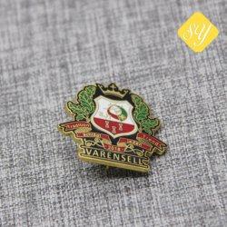 High Quality Sports Gift Metal Plating Lapel Custom Enamel Badge Pin