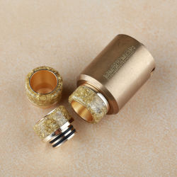 Factory Selling Electronic Cigarette Gold 510 Drip Tips