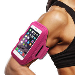 Factory New Sports Armband Waterproof Case Cover for Samsung/iPhone 5.5inch