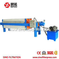 1250 Open Discharge PP Hydraulic Filter Press for Coal Washing