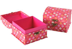 Printing Paperboard Jewel Treasure Chest for Kids