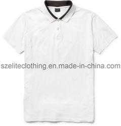 9819de043 Wholesale White Bulk Kni Polo Shirts (ELTMPJ-53)