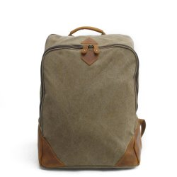 Washed Canvas Laptop Backpack Sport Comping Fashion Backpack Bag (RS2202-P)