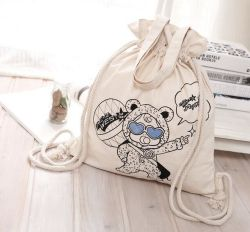 Cheap 210d Nylon Promotional Sport Drawstring Bag Shopping Bag