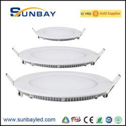 Dimmable 3000K 4000K 6000K 6500K 8000K CRI80 ISO9001 AC85-265V 3W 6W 9W 12W 15W 18W 24W Panel LED Round