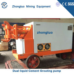 Hydraulic One Cylinder Doule Acting Mud Cement Grouting Pump