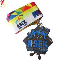Custom Logo Sport Gold Medal for Promotion Event (YB-MD-45)