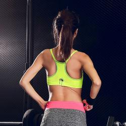 Push OEM Sexy Polyester Fashion Spandex Custom Yoga Sports Bra