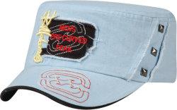 Kids Cotton Printed Army Sports Cap/Hat