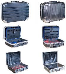 Aluminum Sport Trolley Tool Equipment Case for Gun-Glass