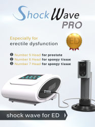 Physical Therapy Shockwave Equipments for Sports Pain Therapy