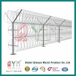 Concertina Razor Wire / Galvanized PVC Coated Security Concertina Razor Barbed Wire