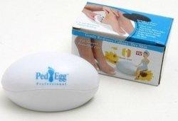 Mini Egg Shape Pedi Spin Foot File Plastic Callus Remove