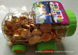 Train Bottle Chocolate Gold Coin 2.2g