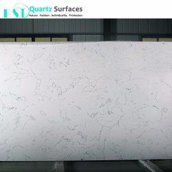 White Carrera Artificial Marble Quartz Stone Slabs with Per Square Meter Price