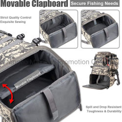 Multi Functional Fishing Tackle Backpack Weatherproof Backpack for Trout Fishing Outdoor Sports