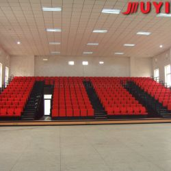 Motor Driven Telescopic Seating System with Ergonomic Foldable Chair for All Sports Court