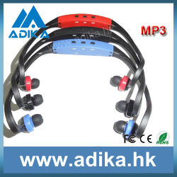 Stylish Sport MP3 Player with 3 Colors (ADK1301)